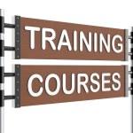 Roadsign training — Stock Photo #34734695