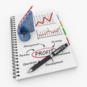 Profit as concept — Stockfoto