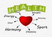 健康概念 — 图库照片