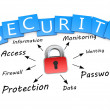 Stock Photo: Security concept