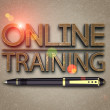Online training — Stock Photo #47301481
