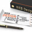 Web design concept — Stock Photo #48925531