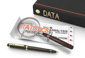 Data statisics — Stock Photo