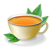 Cup of tea — Stock Vector