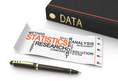 Data statistics — Stock Photo
