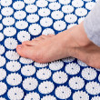Treatment of foot. - Stock Photo