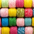 Bright yarn — Stock Photo
