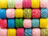 Bright yarn — Stock Photo