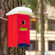 Bright birdhouse. — Stock Photo #40182853