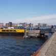 Copenhagen harbour bus — Stock Photo #23015324