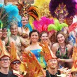 Stock Photo: Participants at copenhagen carnival 2012