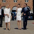 Stock Photo: Princess Mette-Marit, Princess Victoria and Prince Daniel