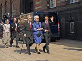 Prens carl philip ve diğer kraliyet ailesi — Stok fotoğraf