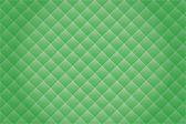 Yeşil mozaik arka plan. — Stok Vektör