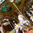 Carousel merry-go-round  — Stock Photo