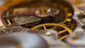 Mechanical clockwork — Stock fotografie