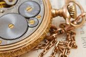 Mechanical clockwork — Stock Photo