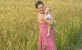 Moeder met baby — Stockfoto