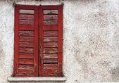 赤色のウィンドウ — ストック写真