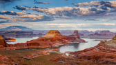 Lake Powell from Alstrom Point — ストック写真