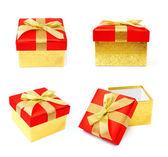 Cajas de oro — Foto de Stock