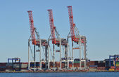 Marine loading arm — Stockfoto