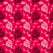 Rose pattern — Stockfoto
