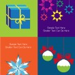 Set of christmas cards — Stock Vector #22754045