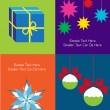 Set of vector christmas cards — Stock Vector