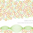 Abstract vector background with symmetrical shapes — Stock Vector #22756750