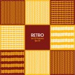 Stockvektor : Abstract structure background in retro style