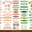 Royalty-Free Stock Imagen vectorial: Set of vintage vector labels