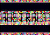 красочный абстрактный векторный фон — Cтоковый вектор