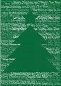 árbol de navidad vintage — Foto de Stock