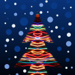 Lighting christmas tree — Stock Photo #23942307