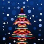 Lighting christmas tree — Stock Photo #23942307