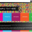 Royalty-Free Stock Immagine Vettoriale: Abstract web page design