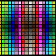 Abstract lighting background with color squares — Stock Vector