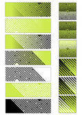 Set of maze backgrounds — Stock Vector