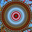 Abstract mandala background — Stock Photo