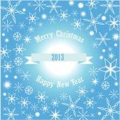 抽象的快乐圣诞节背景 — 图库矢量图片