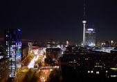Berlino di notte — Foto Stock
