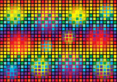 Modern bright vector background with colorful cubes — Vector de stock