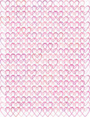 Background with valentine hearts — Stock Vector