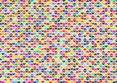 Abstract vector background with color triangles — Stock Vector
