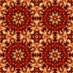 Abstract natural mandala — Stock Photo