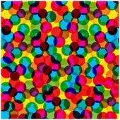 抽象矢量背景与七彩的泡泡 — 图库矢量图片