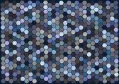 Abstrakt vektor hexagoner bakgrund — Stockvektor