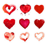 Red heart love. — Stock Photo