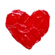 Red heart love. — Stock Photo #23753869